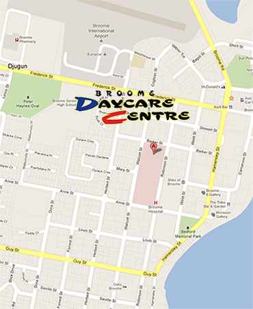 We are located at 17 Barker Street, Broome